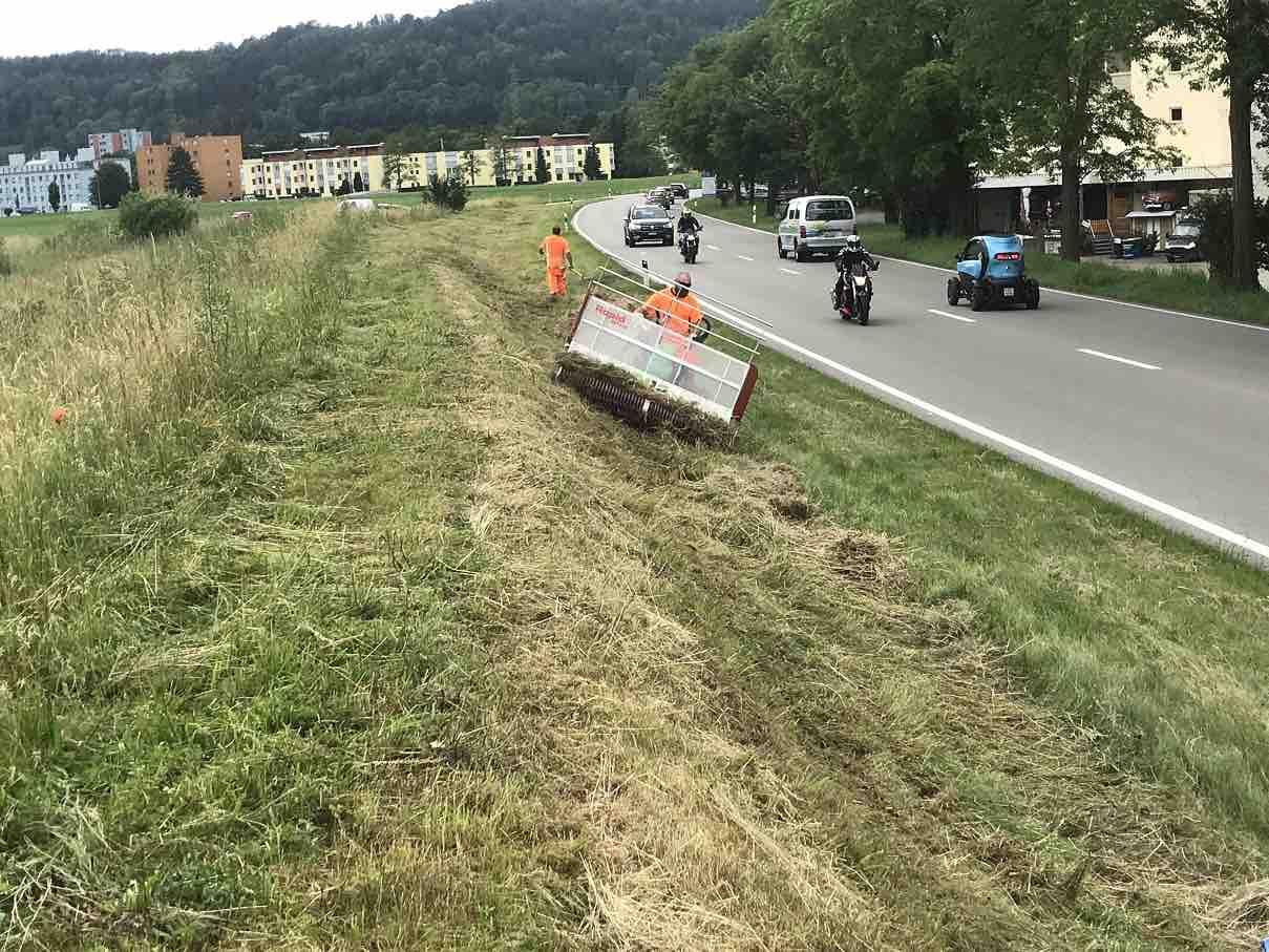 Für die Natur optimierter Strassen Unterhalt im Kanton Zürich (seit 2014)